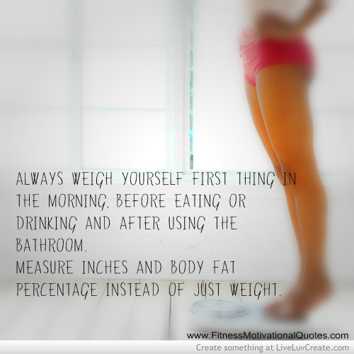 How To Accurately Measure Weight Loss