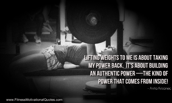 Take your power back - Powerlifting quotes ...