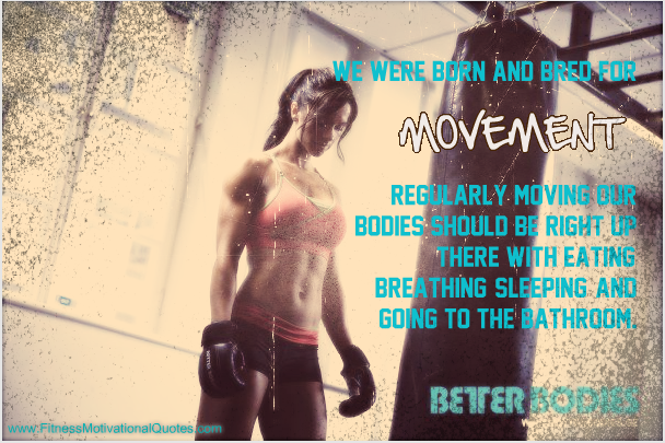 We Were Born For Movement