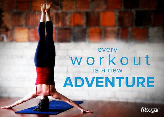 Make Workout a New Adventure