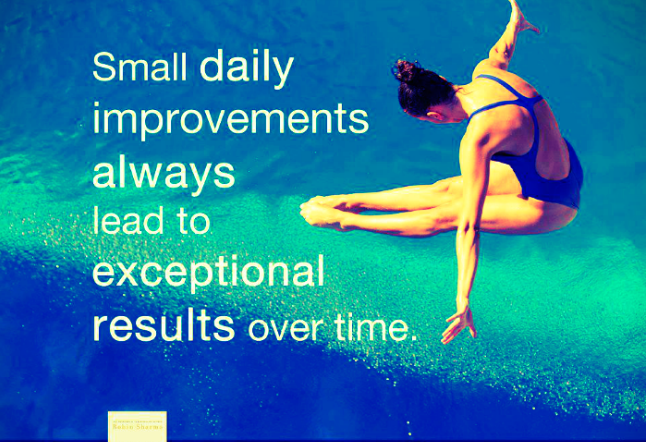 Small Improvements Can Lead to Great Things