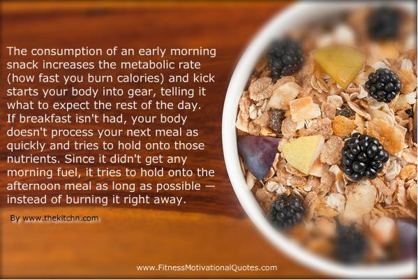 Lose Weight: Eat Breakfast