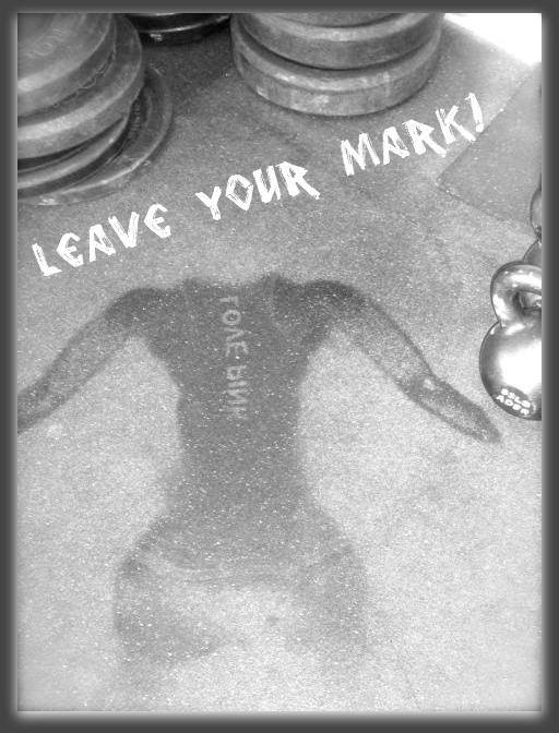 Leave a Mark