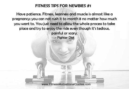 Fitness Tips For Newbies #11