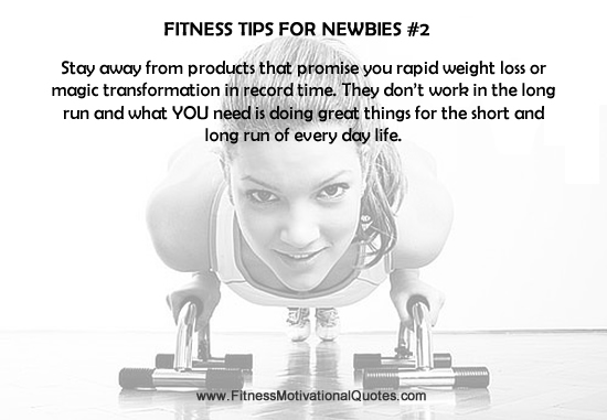 Fitness Tips For Newbies #2
