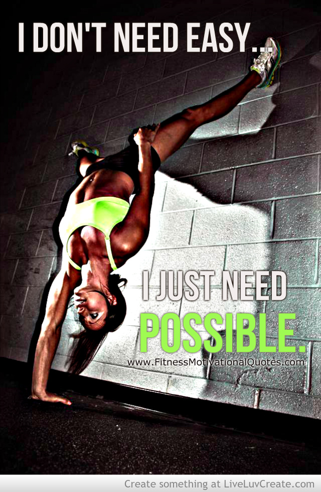 All You Need Is Possible