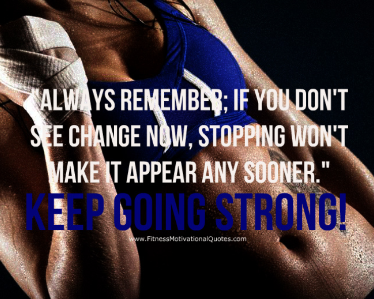 Keep Going Strong