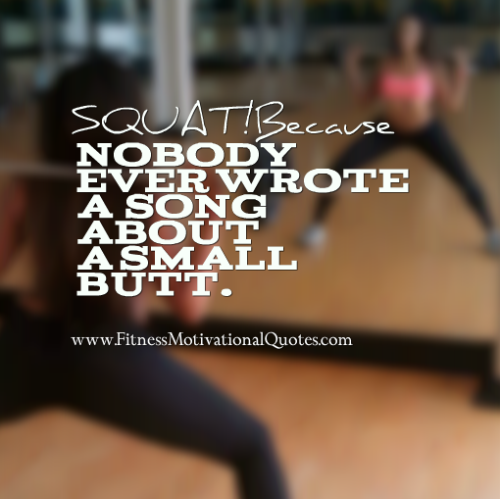 Squat And Get a Hot Butt