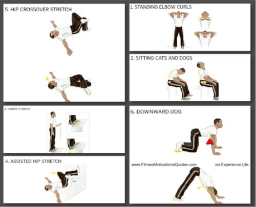 A Posture Recovery Workou