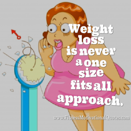 Fitness Is Not One-Size-Fits-All