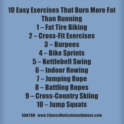 10 Exercises That Burn More Fat Than Running .