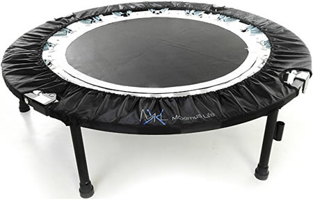 Rebounder for heavy adults