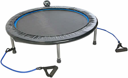 Mini trampoline for heavy people
