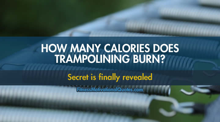 Calories burned jumping trampoline